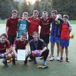 Футбол на Федоскинской 10 августа 2016